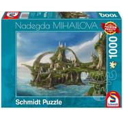 Schmidt Schmidt Island of Waterfalls Puzzle 1000pcs