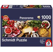Schmidt Schmidt Italian Cooking Panorama Puzzle 1000pcs