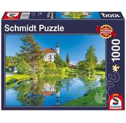 Schmidt Schmidt Breitbrunn, Chiemgau Puzzle 1000pcs