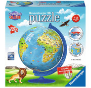 Ravensburger Ravensburger 3D XXL Children's Globe Puzzle Ball 180pcs
