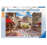 Ravensburger Ravensburger Quaint Shops Puzzle 500pcs