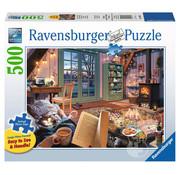 Ravensburger Ravensburger Cozy Retreat Large Format Puzzle 500pcs