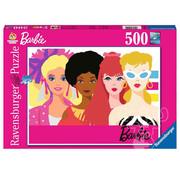 Ravensburger Ravensburger Barbie 60th Anniversary Puzzle 500pcs  RETIRED