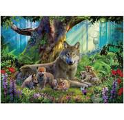 Ravensburger Ravensburger Wolves in the Forest Puzzle 1000pcs