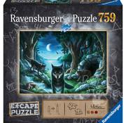 Ravensburger Ravensburger The Curse of the Wolves Escape Puzzle 759pcs