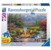 Ravensburger Ravensburger Riverside Livingroom Large Format Puzzle 750pcs