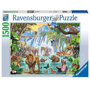 Ravensburger Ravensburger Waterfall Safari Puzzle 1500pcs