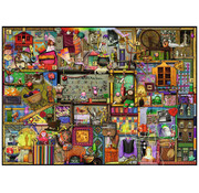 Ravensburger Ravensburger The Craft Cupboard Puzzle 1000pcs