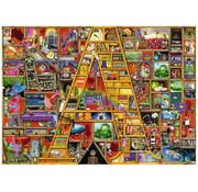 "Ravensburger Ravensburger Awesome Alphabet ""A"" Puzzle 1000pcs"