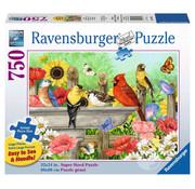 Ravensburger Ravensburger Bathing Birds Large Format Puzzle 750pcs