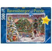 Ravensburger Ravensburger The Christmas Shop Puzzle 500pcs