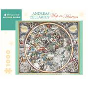 Pomegranate Pomegranate Andreas Cellarius: Map of the Heavens Puzzle 1000pcs