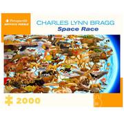 Pomegranate Pomegranate Charles Lynn Bragg:Space Race Puzzle 2000pcs