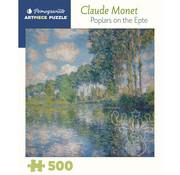 Pomegranate Pomegranate Claude Monet: Poplars on the Epte Puzzle 500pcs