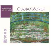 Pomegranate Pomegranate Claude Monet: The Japanese Footbridge Puzzle 1000pcs