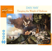 Pomegranate Pomegranate Dan May: Escaping the Weight of Darkness Puzzle 1000pcs