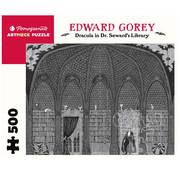 Pomegranate Pomegranate Edward Gorey: Dracula in Seward's Library Puzzle 500pcs