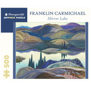 Pomegranate Pomegranate Franklin Carmichael: Mirror Lake Puzzle 500pcs