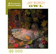 Pomegranate Pomegranate Jay Burch: Owl Puzzle 500pcs