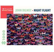 Pomegranate Pomegranate John Dilnot: Night Flight Puzzle 1000pcs