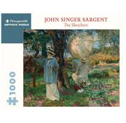 Pomegranate Pomegranate John Singer Sargent: the Sketchers Puzzle 1000pcs