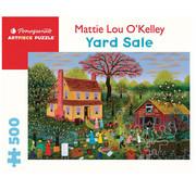 Pomegranate Pomegranate Mattie Lou O'Kelly: Yard Sale Puzzle 500pcs