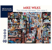 Pomegranate Pomegranate Mike Wilks: The Ultimate Alphabet: The Letter S Puzzle 1000pcs