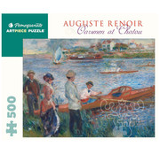 Pomegranate Pomegranate Pierre-Auguste Renoir: Oarsmen at Chatou Puzzle 500pcs