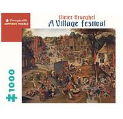 Pomegranate Pomegranate Pieter Brueghel A Village Festival Puzzle 1000pcs