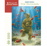 Pomegranate Pomegranate Robert Bissell: The Swimmer Puzzle 500pcs