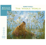 Pomegranate Pomegranate Robert Bissell: The Whole World Puzzle 1000pcs
