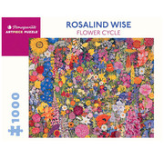 Pomegranate Pomegranate Rosalind Wise Flower Cycle Puzzle 1000pcs