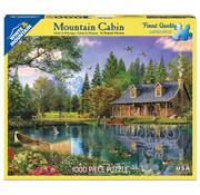 White Mountain White Mountain Mountain Cabin Puzzle 1000pcs