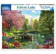 White Mountain White Mountain Forest Lake Puzzle 1000pcs