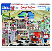 White Mountain White Mountain Craft Room Seek & Find Puzzle 1000pcs