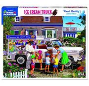 White Mountain White Mountain Ice Cream Truck Puzzle 1000pcs