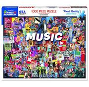 White Mountain White Mountain Music Puzzle 1000pcs