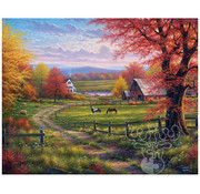 White Mountain White Mountain Peaceful Tranquility Puzzle 1000pcs
