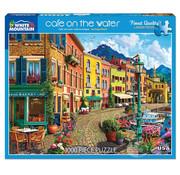 White Mountain White Mountain Cafe on the Water Puzzle 1000pcs