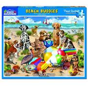 White Mountain White Mountain Beach Buddies Puzzle 550pcs