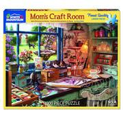 White Mountain White Mountain Mom's Craft Room Puzzle 1000pcs