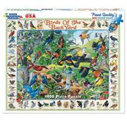 White Mountain White Mountain Birds of the Backyard Puzzle 1000pcs