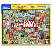 White Mountain White Mountain The Seventies Puzzle 1000pcs