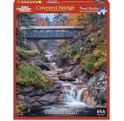 White Mountain White Mountain Covered Bridge Puzzle 1000pcs