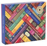 Galison Galison Vintage Library Foil Stamped Puzzle 1000pcs