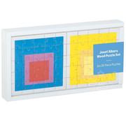 Galison Galison Josef Albers: Moma Squares Wood Puzzle 6 x 25pcs