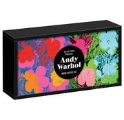 Galison Galison Andy Warhol: Flowers Wood Puzzle 6 x 25pcs