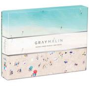 Galison Galison Gray Malin The Hawaii Beach Double Sided Puzzle 500pcs