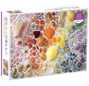 Galison Galison Rainbow Seashells Puzzle 2000pcs