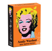 Galison Galison Andy Warhol: Marilyn Mini Shaped Puzzle 100pcs